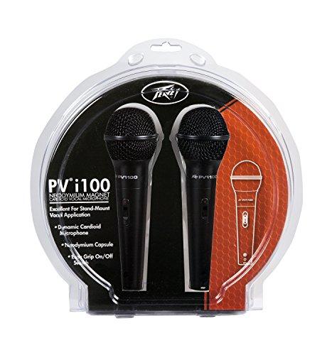 Peavey Pvi 100 - 2-Pack Dynamic Cardiod Microphones ()