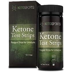 KetoSports Ketone Test Strips, 100 Count