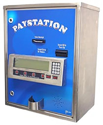 American Changer - AC8000 Automatic Carwash Pay Station