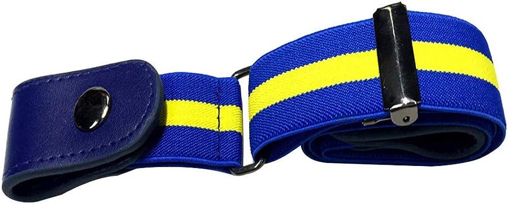 BIGBOBA Moda Cinturón de Nylon para Hombres y Mujeres de Ajustable Cinturón de Deportivo al Aire Libre -Múltiples Colores