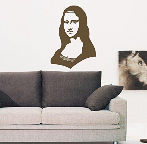 Gioconda (Mona Lisa) Beautiful Woman Kids Room Children Stylish Wall Art Sticker Decal G8134