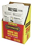 Catchmaster 60m Bulk Packed Mouse Insect and Snake Glue Boards, 60-Pack