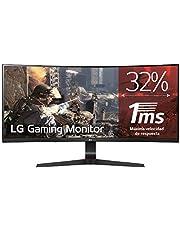 LG 34GL750-B 86,36 cm (34 Zoll) Ultragear™ Curved 21:9 UltraWide™ Full HD IPS Gaming Monitor (144Hz, 1ms, AMD Radeon FreeSync), schwarz