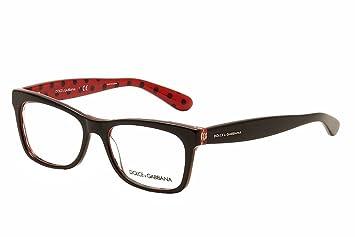 dolcegabbana pois dg3199 eyeglass frames 2871 53 blackpois blackred dg3199 - Dolce And Gabbana Glasses Frames