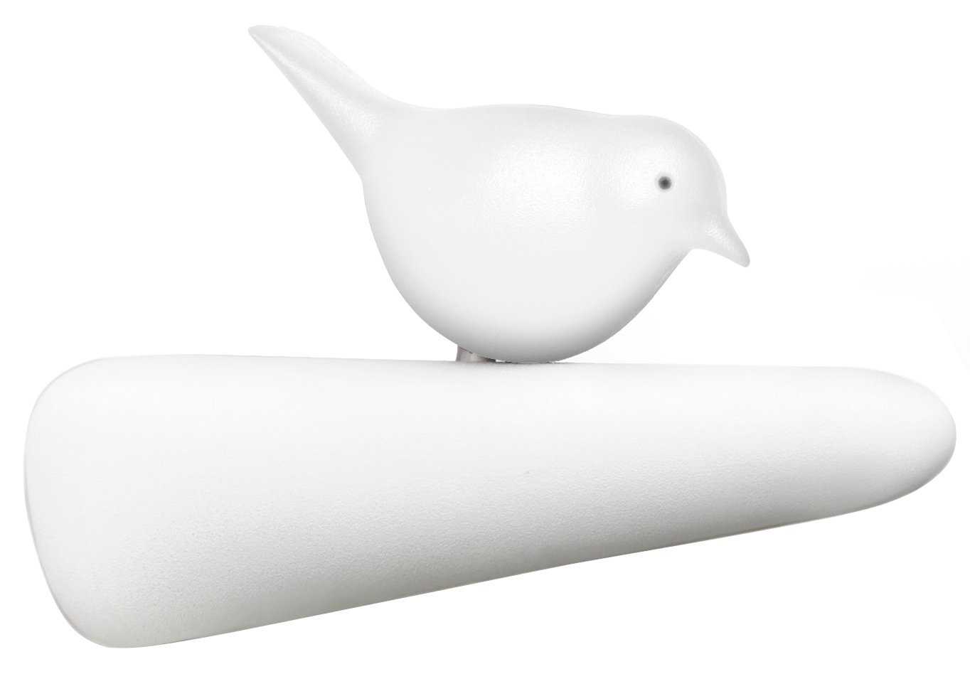 QUALY - patere oiseau blanc picky bird qualy QL10211WH-WH ...