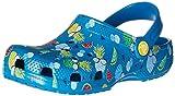crocs Classic Summer Fun K Clog (Toddler/Little Kid), Ultra Marine, 6 M US Toddler