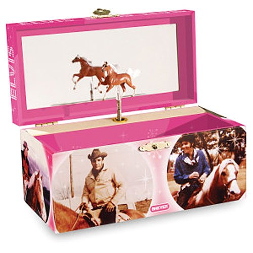 Breyer Elvis And His Horses Musical Treasure Box
