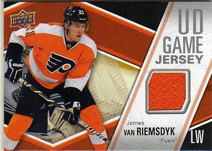 sale retailer c92a9 97781 2011-12 Upper Deck Game Jerseys #GJVA James van Riemsdyk ...