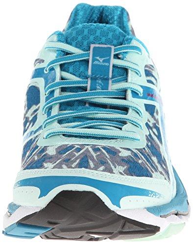 Mizuno femmes Wave Creation 15 Chaussures de miellat/Jazz/bleu Caraïbes 8,5