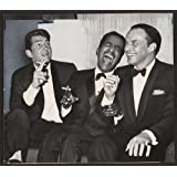 Photo: Tremendous trio,Dean Martin,Sammy Davis Jr,Frank Sinatra,cigarettes,sofa,1961