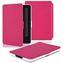 Capa para Kindle Paperwhite - Várias Cores - Base Branca (Pink)