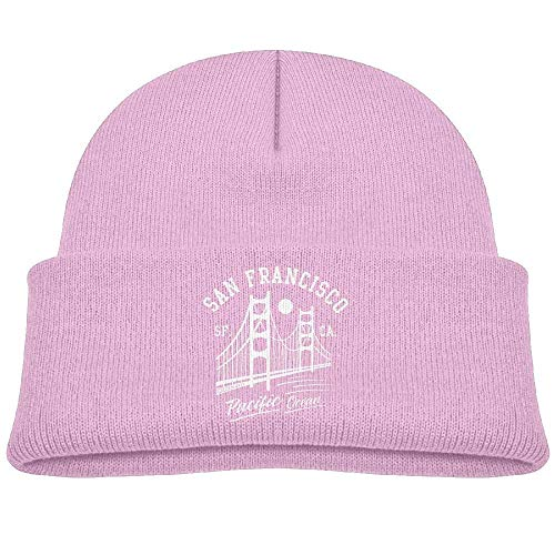 Fashion San Francisco Golden Gate Bridge Moon Printed Baby Girl Boys Winter Hat Beanie