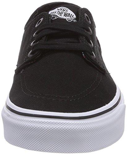 Vans BRIGATA - zapatilla deportiva de lona unisex negro - Noir (Black/True White)