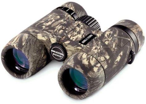 Brunton Echo 10×32 Mid Size Roof Prism Waterproof Binoculars, Camo ECHO1032-CAMO