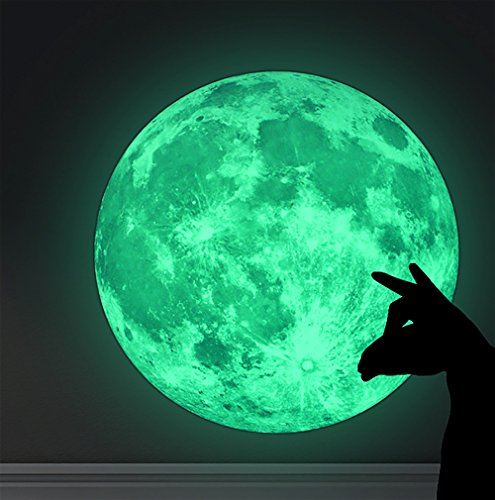 Creative 20cm Glow in the Dark Night Wall Decal