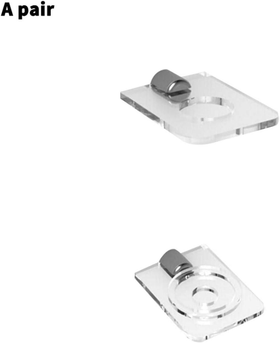 Soporte Decorativo para Espadas//Sable de luz Ardorman Estante de Pared para Sable de luz de 2 Piezas Soporte de exhibici/ón Vertical acr/ílico