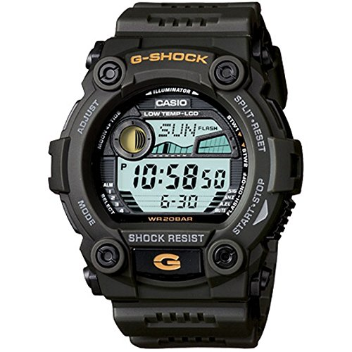 Casio G 7900 3DR G Shock Green Digital