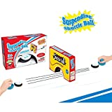 Ereon Mini Air Power Soccer Football Ice Hockey Ball Game Disk Ball Shuttle Ball Hover Ball Pretend Play Board Game Toy For Kids and Adults