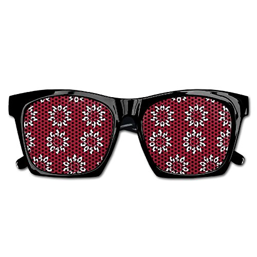 Elephant AN Themed Novelty Red Floral Fashionable Visual Mesh Sunglasses Fun Props Party Favors Gift - Ray Bans Floral