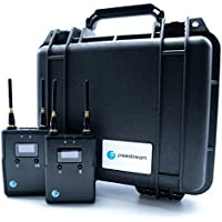 Freestream Universal wireless live stream video transmitter for DSLR, GoPro and Red Camera with Pelican Case