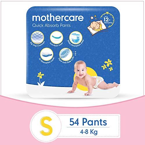 Mothercare Diaper Pants Extra Absorb Small- 54 Pcs – White_MC-DIAPER-S-P54