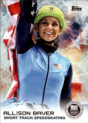2014 Topps U.S. Olympic Team Silver #6 Allison Baver