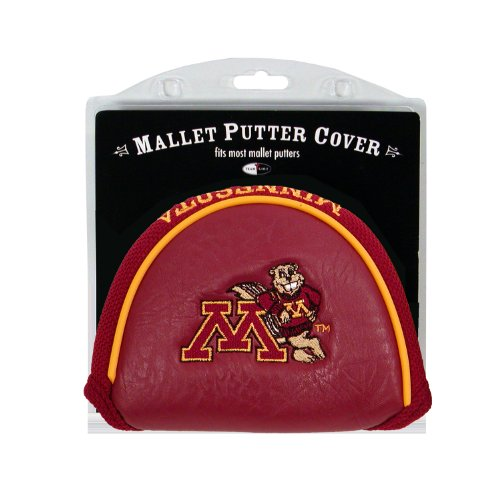 Team Golf NCAA Minnesota Golden Gophers Golf Club Mallet Putter Headcover, Fits Most Mallet Putters, Scotty Cameron, Daddy Long Legs, Taylormade, Odyssey, Titleist, Ping, Callaway