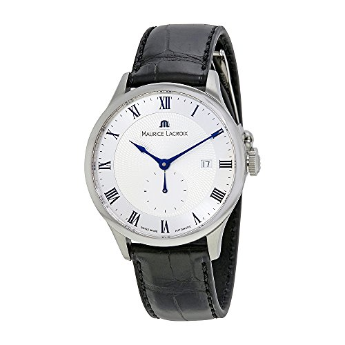 Maurice Lacroix Men's MP6907-SS001-110 Tradition Analog Display Swiss Automatic Black Watch