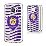 Keyscaper Orlando City Soccer Club Wave Samsung Galaxy S7 Clear Slim Case MLS