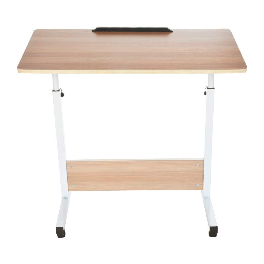 FengGa PC Laptop Office Desk Computer Desk for Small Space/Small Folding Table/Small Writing Desk/Compact Desk/Foldable Desk.Household Can Be Lifted and Folded Folding Computer Desk (80cm40cm) by FengGa 3C (Image #4)