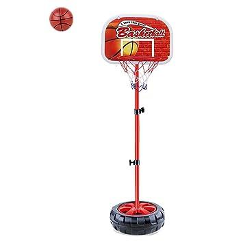 ajustable baloncesto conjunto de juguete tubos aro pelotas aire libre y interior deportes actividades para nios