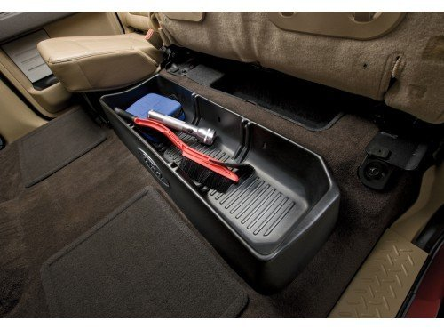 Seats Ford Oem - New OEM Supercrew Under-seat Cargo Organizer Ford F-150 2009-2011