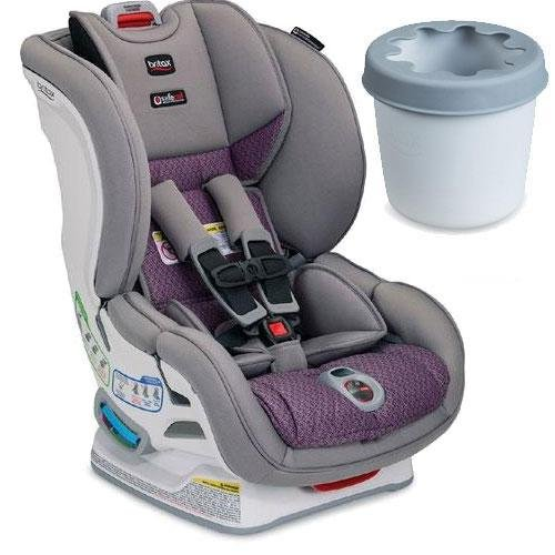 Britax - Marathon ClickTight Convertible Car Seat with Cup Holder - Twilight