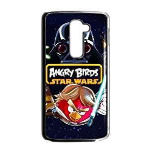 HD Beautiful image for LG G2 Cell Phone Case Black angry birds star wars HOR3850564