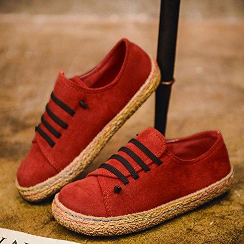 Ba Zha Hei Zapatos planos de mujer 9036d4e006dc