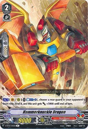 Hammerknuckle Dragon V-BT03//040EN R Cardfight Vanguard Narukami
