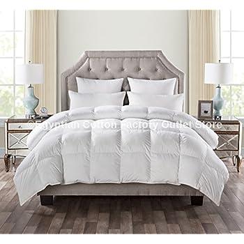 LUXURIOUS KING Size White Goose Down Alternative Comforter Duvet Insert 750 Fill Power, 60 oz Fill Weight,Plush Siliconized Polyester Fiberfill,Hypoallergenic,Baffle Box design & LIFETIME WARRANTY!
