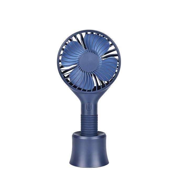 JiaMeng Mini Ventilador Silencioso Pequeño y Potente Ventilador Ventilador portátil portátil Recargable portátil con Ventilador de enfriamiento Mini ...