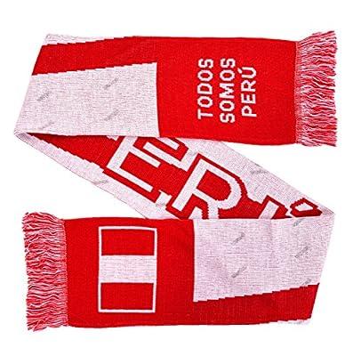 peru Soccer Knit Scarf