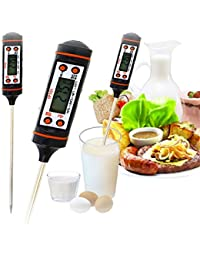 Buy -50℃~300℃ High Quality Digital Probe Meat Milk Food Thermometer Kitchen Thermometer Cooking BBQ 23001344 lowestprice