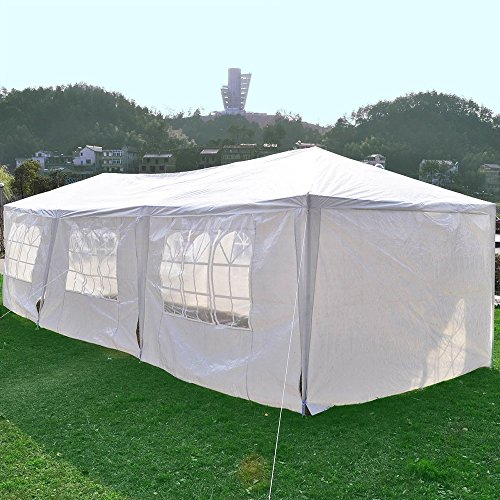 Clevr 10'x30' Canopy Party Wedding Outdoor Tent, Walls w/windows, Gazebo Pavilion Cater Events Tent by Clevr (Image #5)