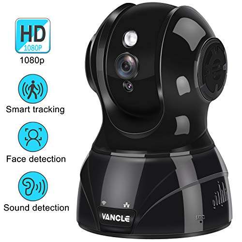 Cheap Vancle Wireless IP Camera 1080p HD with Motion Detection Night Vision Two Way Audio Pan/Tilt/Zoom Supports 2.4G WiFi for Home Surveillance Baby/Elder/Pet Monitor, Works with Alexa for Phone/iPad/PC