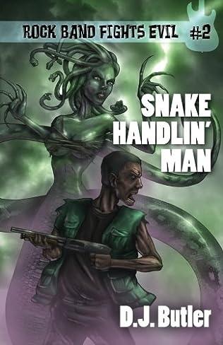book cover of Snake Handlin\' Man