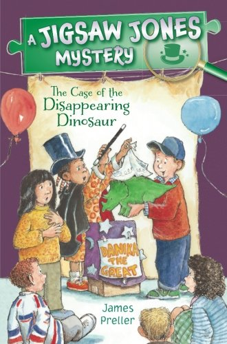 Jigsaw Jones: The Case of the Disappearing Dinosaur (Jigsaw Jones Mysteries)