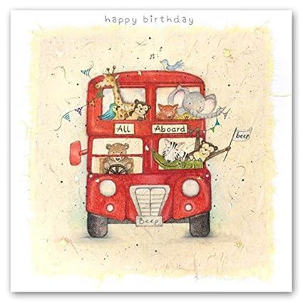 Tarjeta de cumpleaños para niños (BP-LO-14) - todos los ...