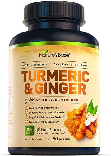 Turmeric Curcumin with Ginger & Apple Cider...