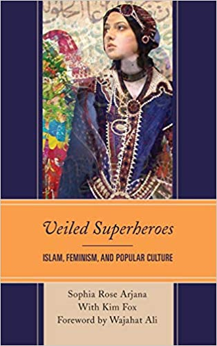 cover image, veiled superheroes