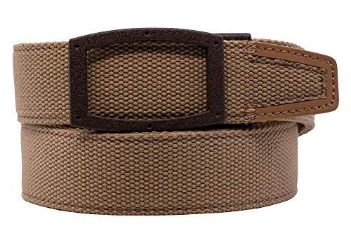 Nexbelt Newport 2019 Tan Nylon with Leather Tip Golf Belt