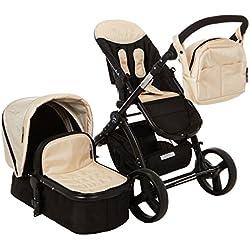 Elle Baby Travel System, White