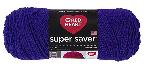 Price comparison product image RED HEART E300.0356  Super Saver Yarn, Amethyst